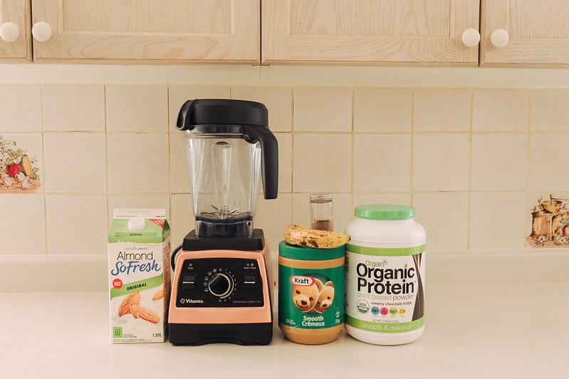orgain protein powder smoothie