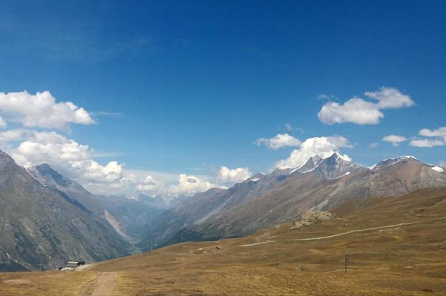 Abstieg zurück nach Zermatt