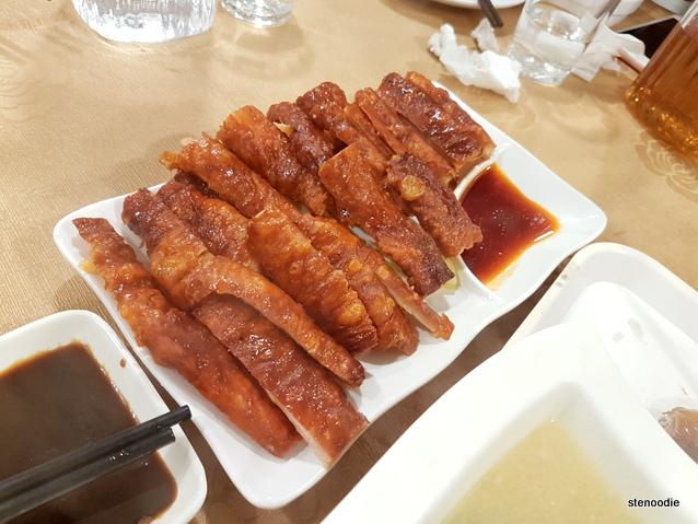 Crispy Pig's Intestines (脆皮炸大腸)