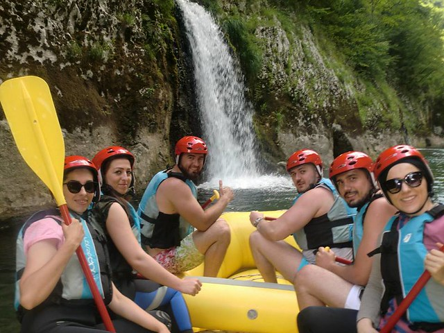 Take rafting on the Neretva
