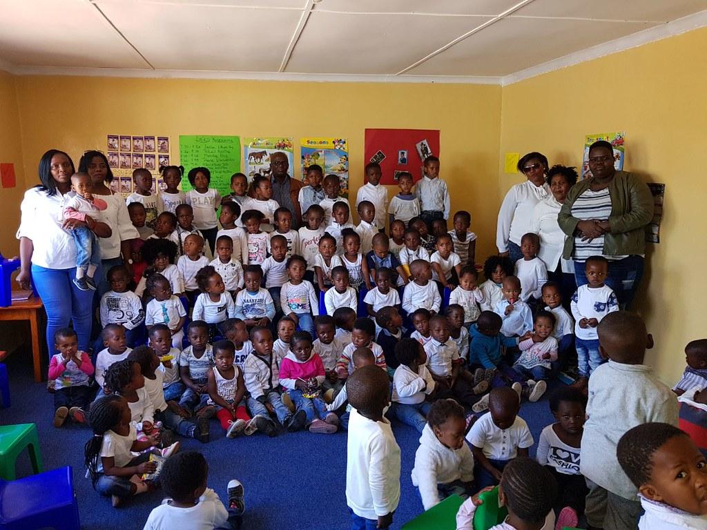 Launch of Zingisani Creche, South Africa