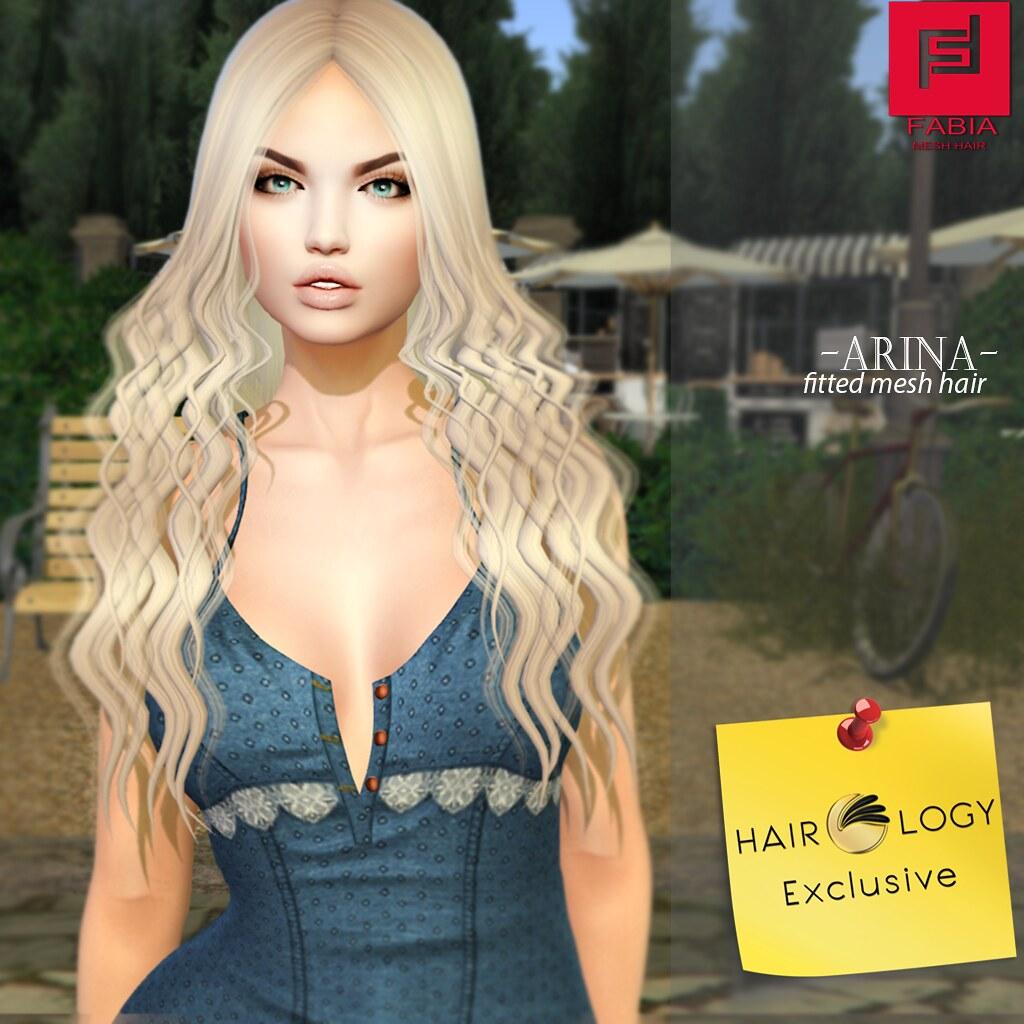 -FABIA- Mesh Hair   <Arina> - TeleportHub.com Live!