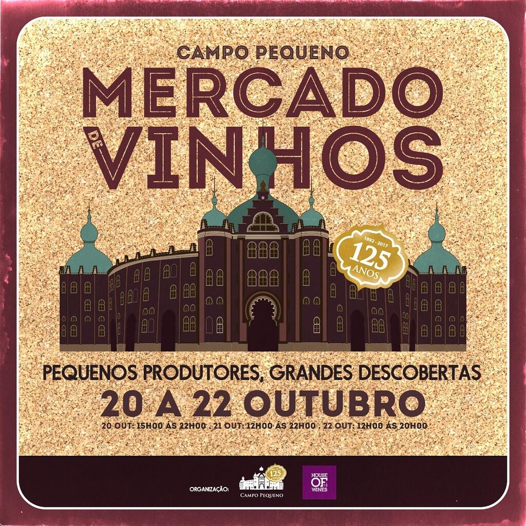 Cartaz Mercado de Vinhos 2017