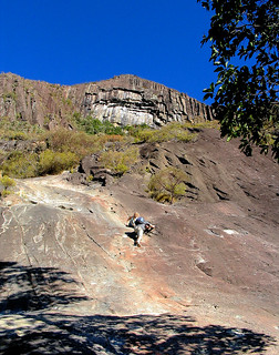 Aug 2004 - Mt Beerwah in the Glasshouse Mountains, Queensland, Australia