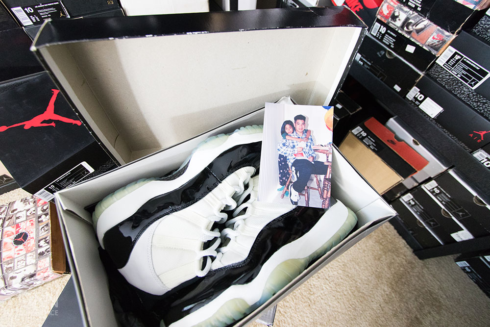 1995 OG Concord XI's.