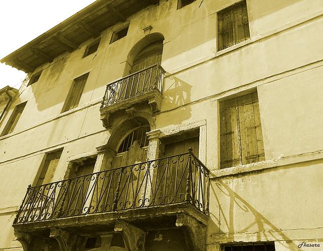 Vacant building, Marostica