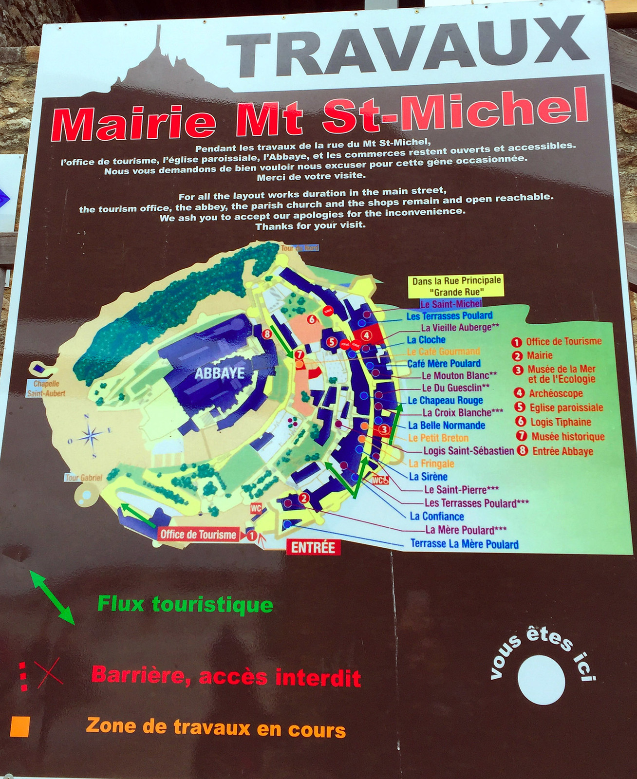 Mont Saint-Michel, France / Monte Saint-Michel, Francia mont saint-michel - 37669384526 c81fe46115 h - Visitar el Mont Saint-Michel