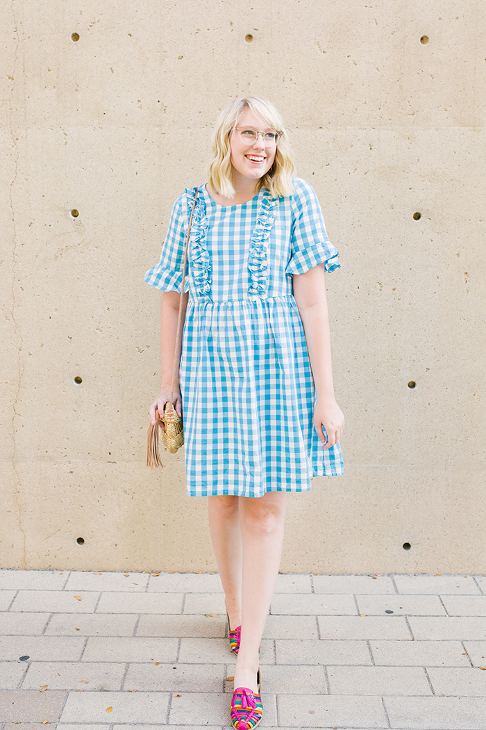 austin fashion blogger writes like a girl asos gingham dress3
