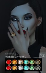 [bellvi] Witch Crystal Ring for anyBody
