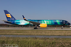 TF-FIU Icelandair Boeing 757-256(WL) painted in Aurora (Northern Lights) special colours (FRA - EDDF)-3