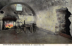 Fort Marion - Guard Room and Dungeon