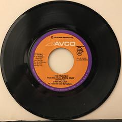 VAN MCCOY & THE SOUL CITY SYMPHONY:THE HUSTLE(RECORD SIDE-A)