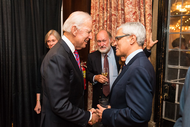 Vice President Biden and Ambassador Vital of Portugal - 2017 Global Leadership Awards