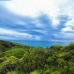 27. September 2017 - 15:01 - Pacific Ocean view near Split point lighthouse at Aireys Inlet