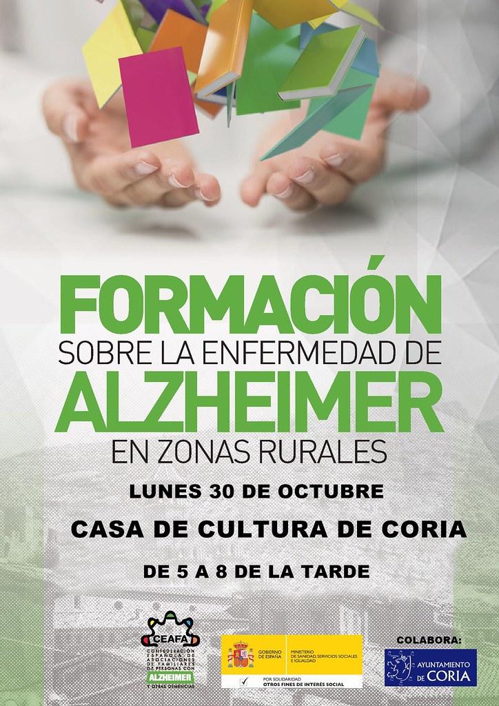 Charla informativa sobre la enfermedad de Alzheimer en las zonas rurales
