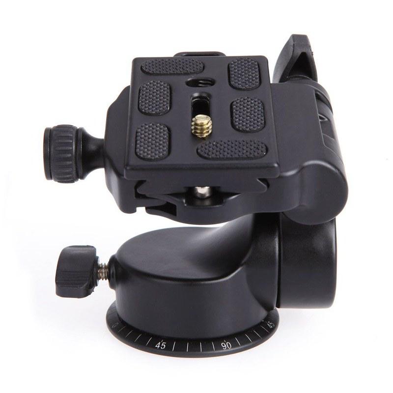Tripod video ball head QZSD Q-08 đế tháo nhanh - quay video êm mượt mà