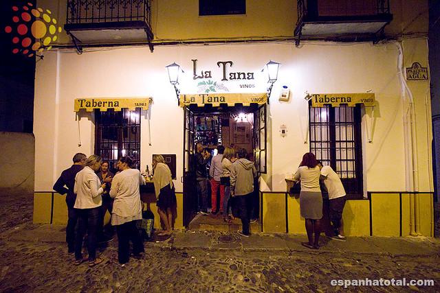 o que comer em Granada