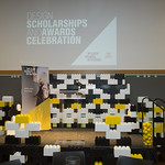 2017 Scholarships & Awards Decor