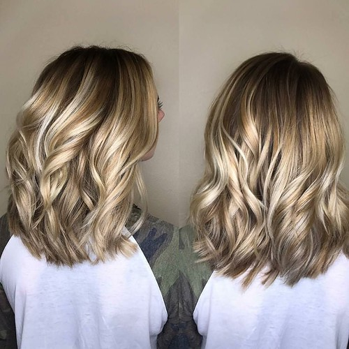 Transitioning a low maintenance client to a #rootshadow with a little touch of #hairpainting 👌 hair by Sam @samanthasteck_ #goldwellapprovedus
