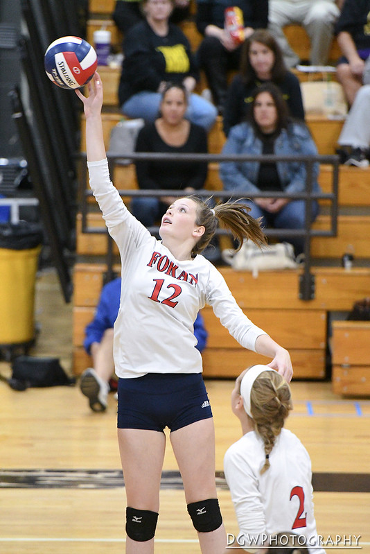 Foran High vs. Jonathan Law - High School Volleyball