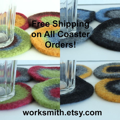 Coasters Free Shipping on Etsy