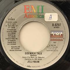 JELLYBEAN:SIDEWALK TALK(LABEL SIDE-A)
