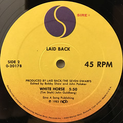 LAID BACK:SUNSHINE REGGAE(LABEL SIDE-B)
