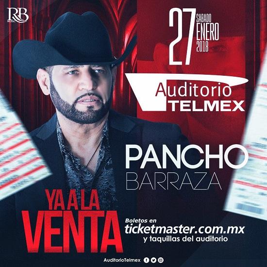 Pancho Barraza / Auditorio Telmex