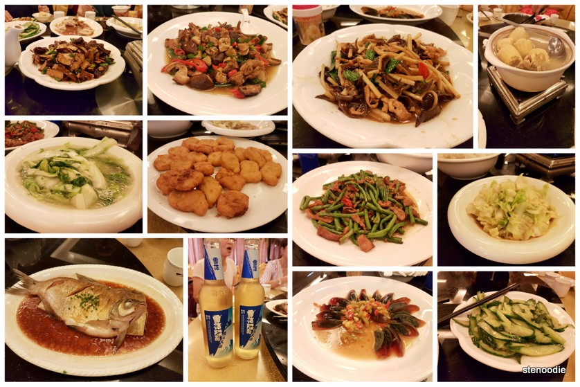 different types of Chinese dishes