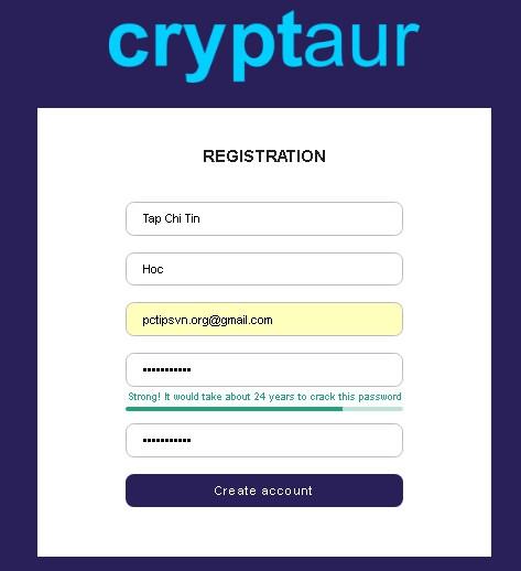 Hướng dẫn đầu tư ICO dự án Cryptaur