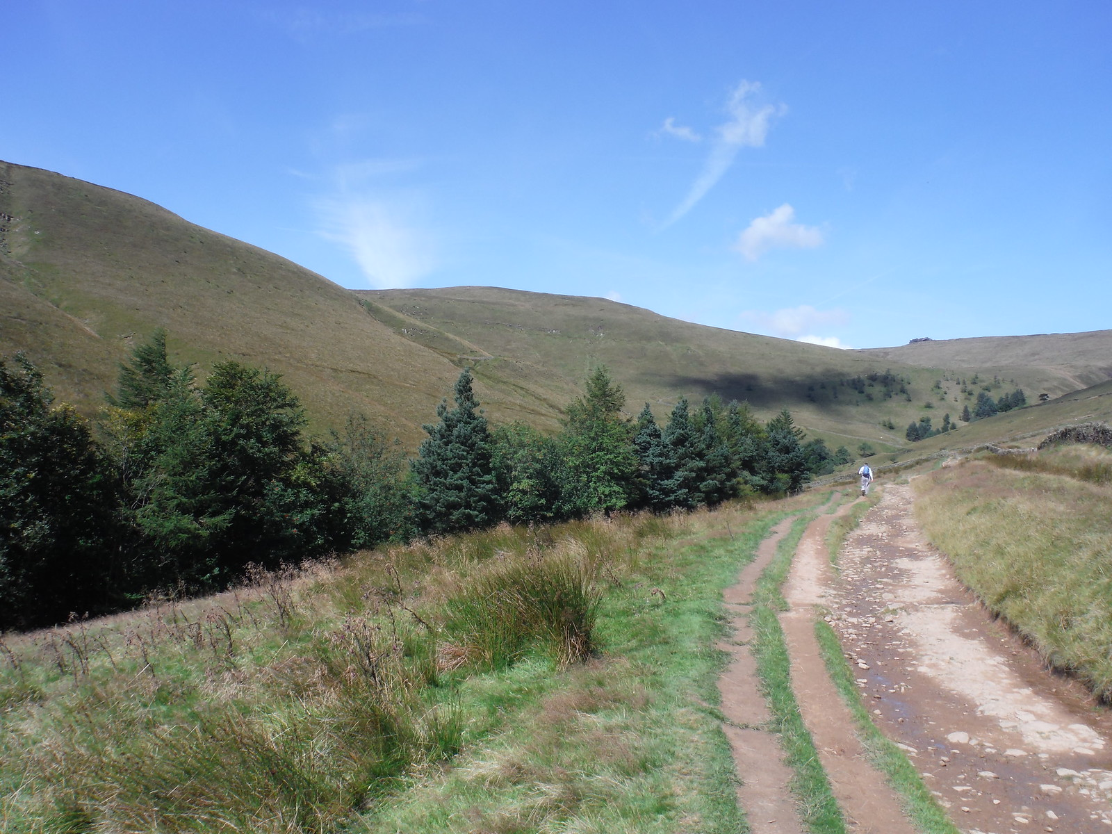 Edale Rocks, from near Lee House SWC Walk 303 - Edale Circular (via Kinder Scout and Mam Tor)
