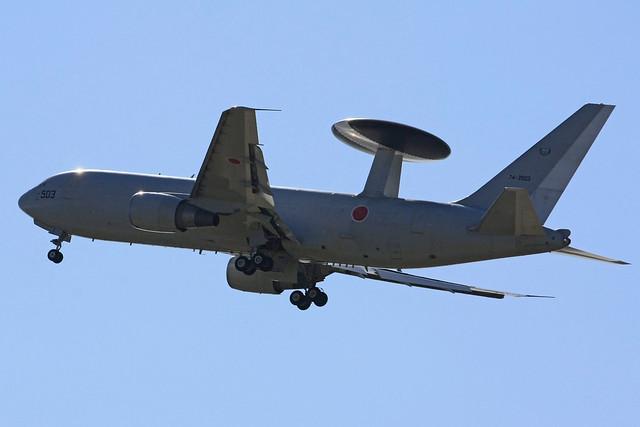 警戒航空隊 第602飛行隊 E-767 74-3503 IMG_3913_2