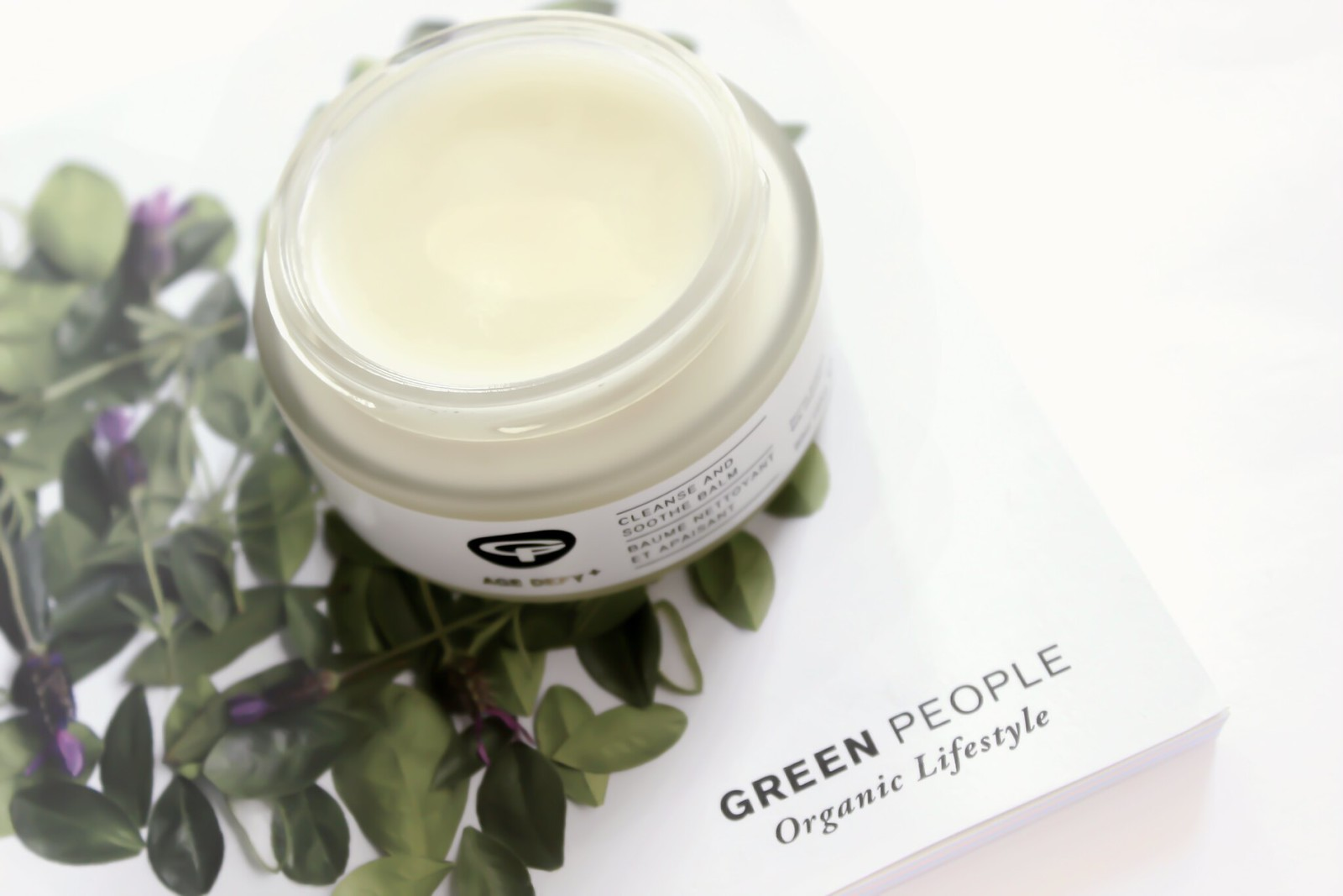 Green People Age Defy+ Cleanse and Soothe Balm