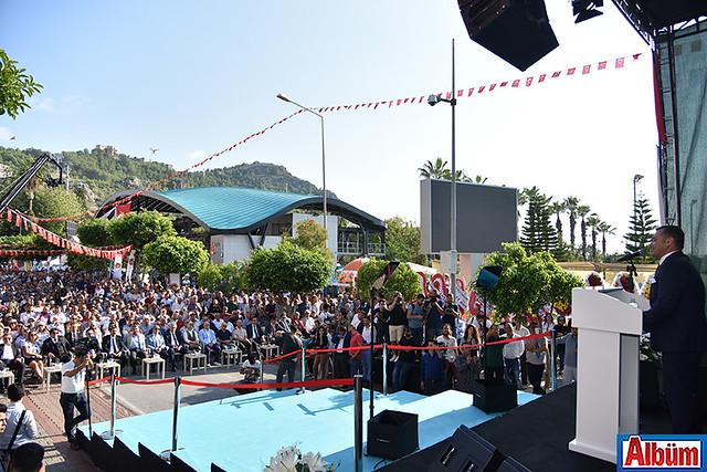 Alanya Teleferik resmi açılış töreni -6