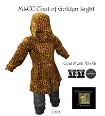 MLCC Coat of Golden Light Ad Pic