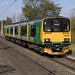 150107 passes Marston Green working 5B01 1057 Birmingham - Bletchley CS 17/10/2017