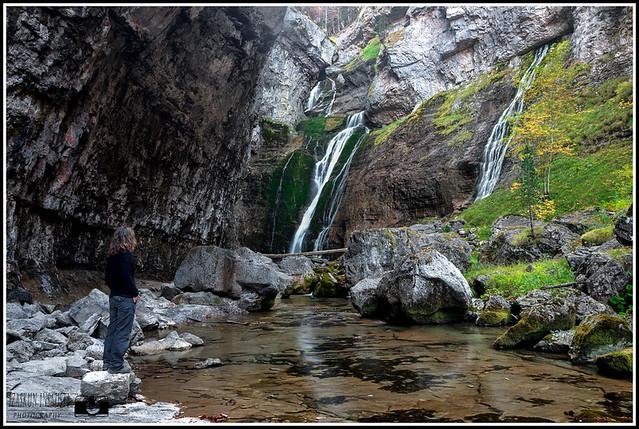 La cascada del Estrecho