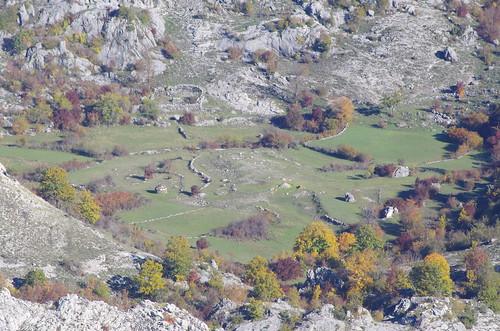 Plateau karstique du Montenegro