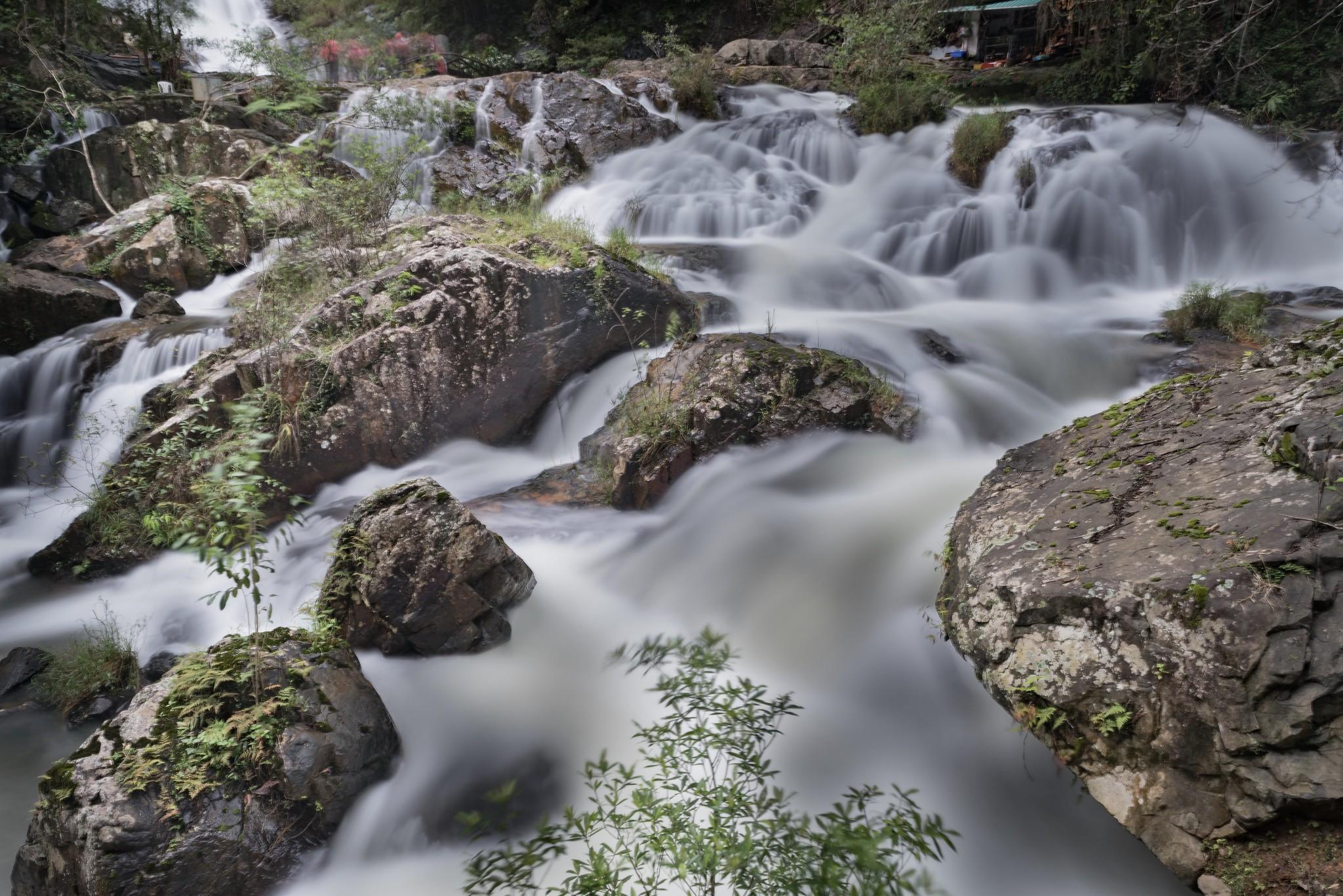 Visitar en Dalat las cataratas Datanla