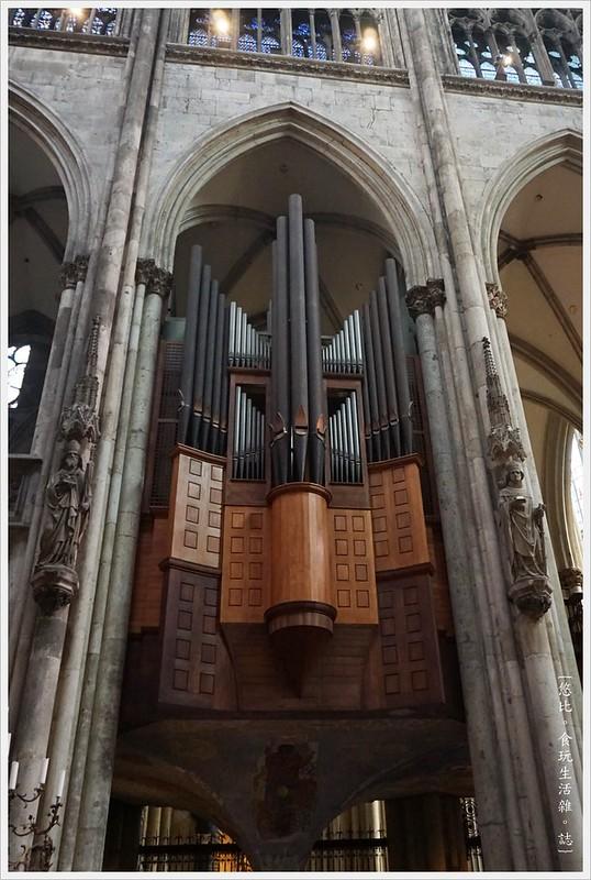 科隆大教堂-73-管風琴