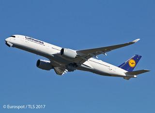 F-WZNY Airbus A350 Lufthansa