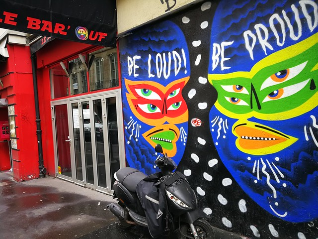 Be Loud Be Proud wall art Paris