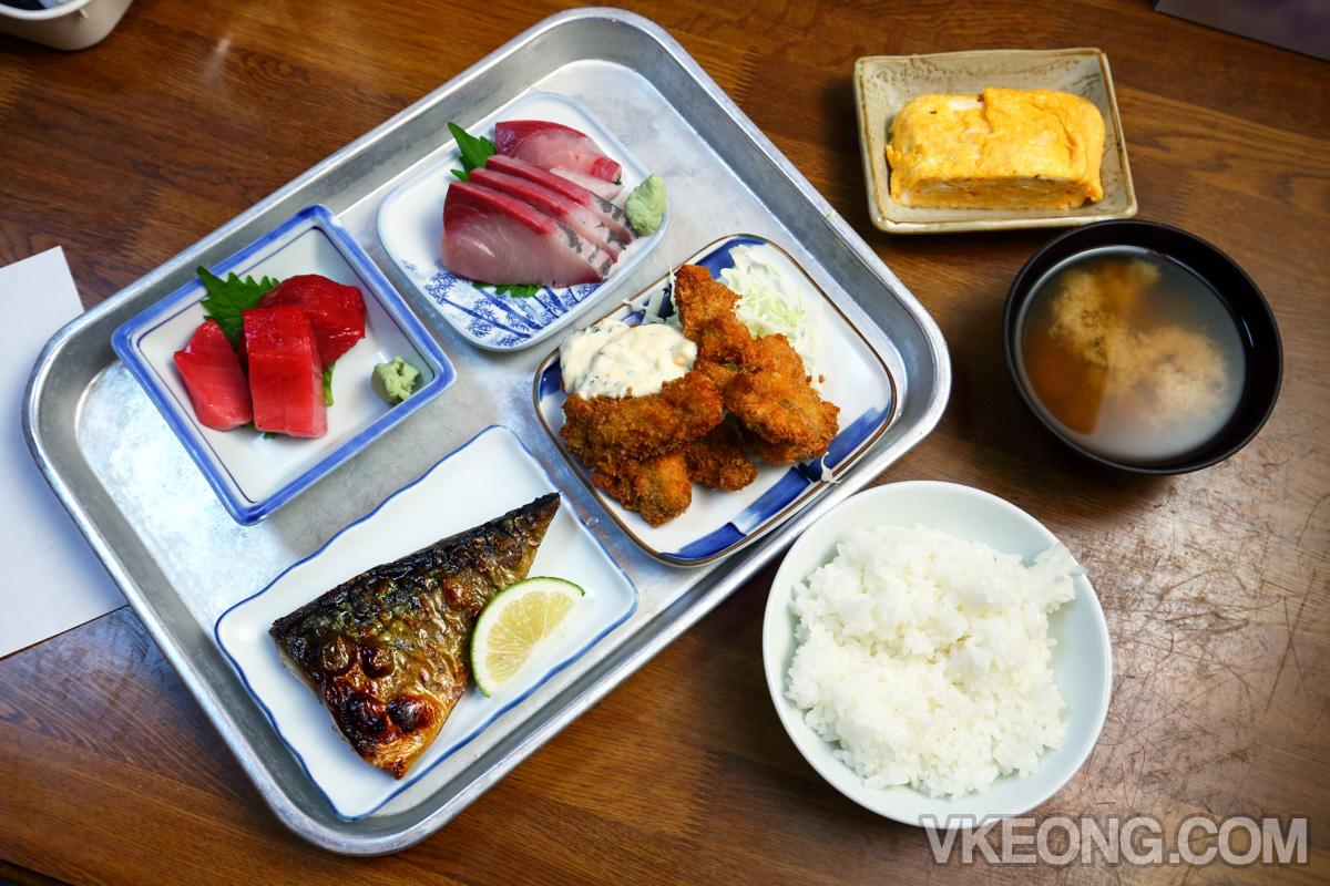 Ginshari-ya Geko-tei-Japanese-Meal-Sakai