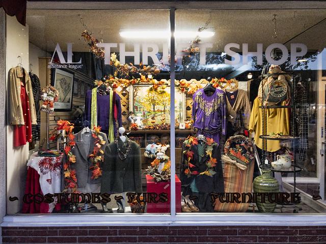 Thrift store fall