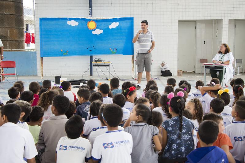 Peça de teatro sobre o Aedes aegypti: Prefeitura realiza trabalho de prevenção com as crianças
