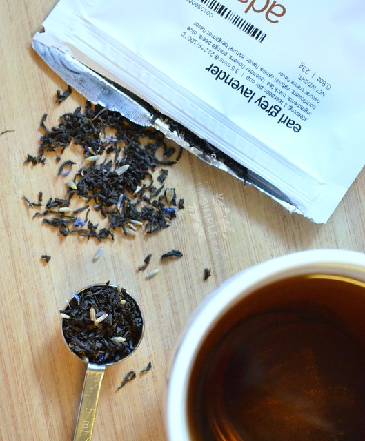Adagio Earl Grey Lavender loose leaf tea on The SIMPLE Moms