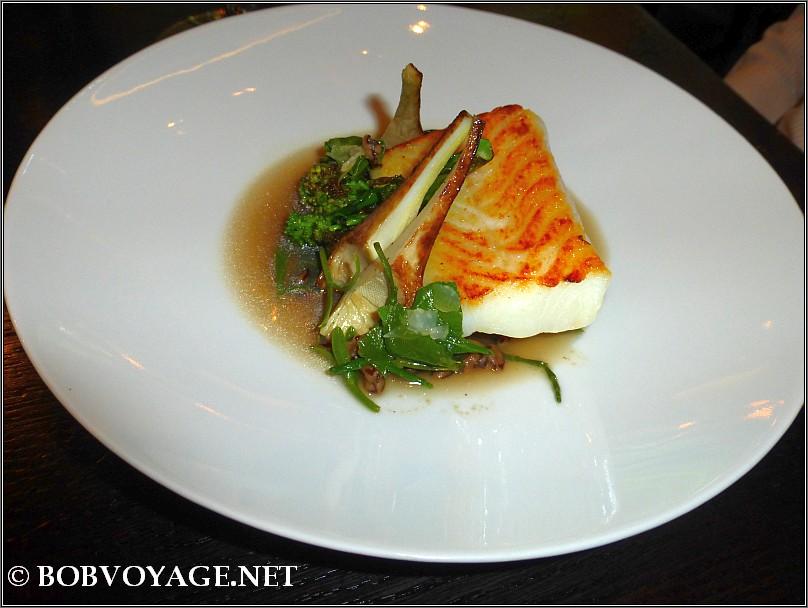 Roast Pollack Frumenty  ב- Dinner by Heston Blumenthal