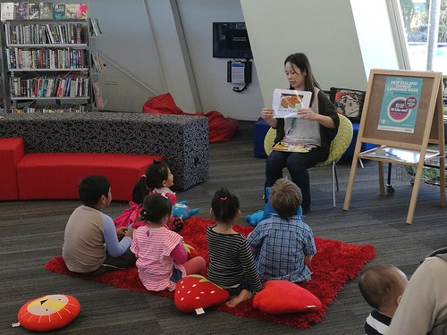 Bilingual storytime with Anita