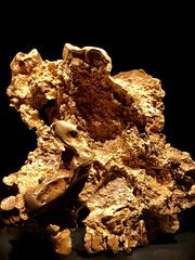 The Ausrox Gold Nugget at Perot Museum