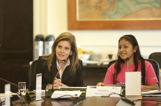 Presidenta del Consejo de Ministros, Mercedes Aráoz, informa sobre los acuerdos tomados en sesión de consejo.